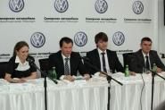 Открытие нового автоцентра Volkswagen
