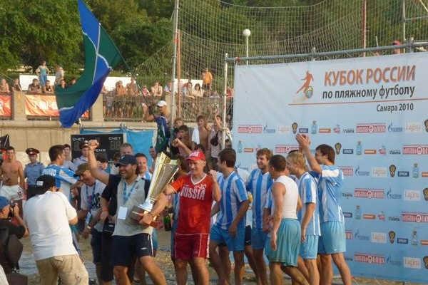 Кубок России по пляжному футболу - 2010 в Самаре!