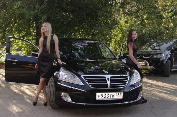 Экспозиция Hyundai Equus!