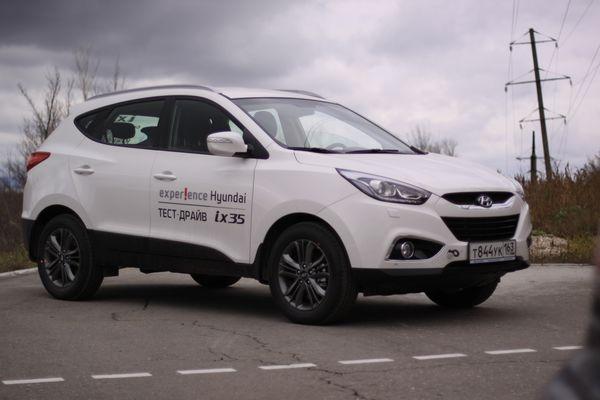 Презентация нового Hyundai ix35!